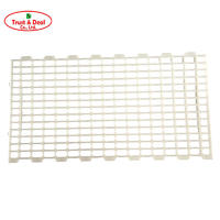 High quality big hole plastic slat flooring for breeder house with CE certificate